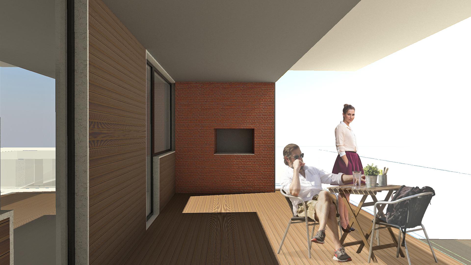 Terraço do Apartamento